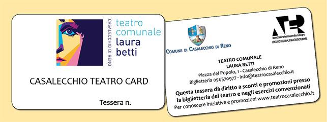 Casalecchio Teatro Card